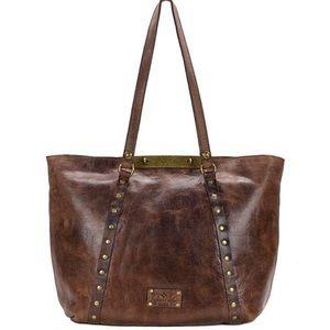 Patricia Nash   Benvenuto distressed leather Tote